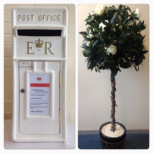 Post Box-Bay Tree.JPG
