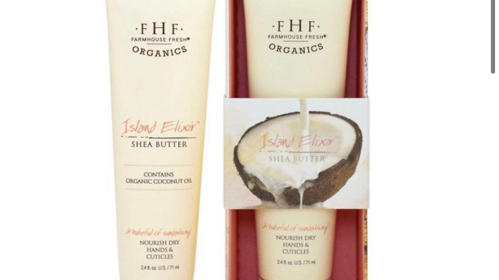 FarmHouse Fresh Island Elixir Shea Butter Hand Cream 2.4oz.