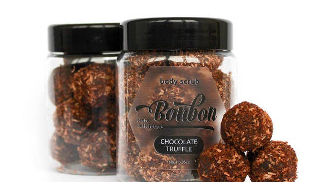 Chocolate Truffle Body Scrub Truffles