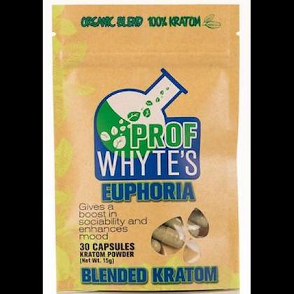 30 Count Euphoria Kratom Capsules Prof Whytes