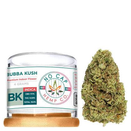 Premium CBD Bubba Kush 4 GRAM FLOWER