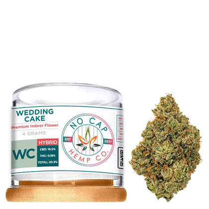 Premium CBD Wedding Cake 10 GRAM FLOWER