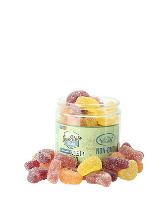 Organic Gummy Fruit Slices Vegan 750mg Sunstate Hemp