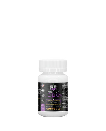 CBG/CBD Full Spectrum Softgels 30pcs 1500mg Sunstate Hermp
