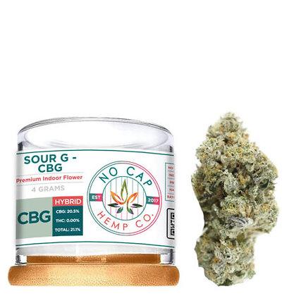 Premium CBD Sour G CBG 4 GRAM FLOWER