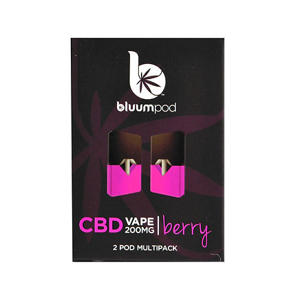 BERRY CBD 200MG (2pk) JUUL Compatable BLUUM