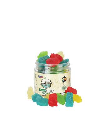 Gummy Bears Traditional 500mg Sunstate Hemp