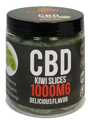 1000MG CBD Infused Kiwi Dried Fruit