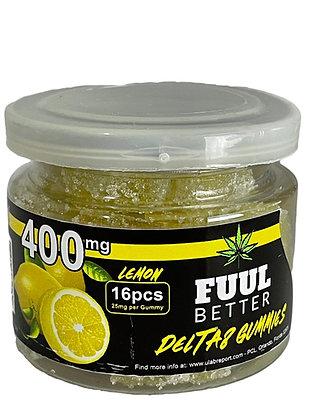 Delta-8 400MG Lemon 16pc 25MG EA FUUL BETTER