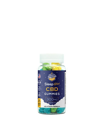 CBD Sleep Plus Gummy Sour Bears 30pcs 300mg Sunstate Hemp