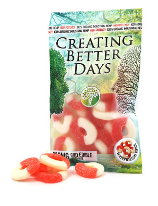 300MG Watermelon Rings (20 Pieces)