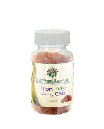 Iron - 300mg Nutritional Gummy