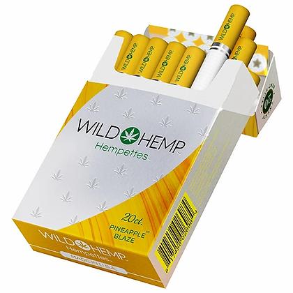 Pineapple WILD HEMP CBD HEMP-ETTES TOBACCO 1 Pack of 20 Hempette's