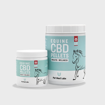 EQUINE CBD PELLETS 30 DAY SUPPLY Pet Med Labs