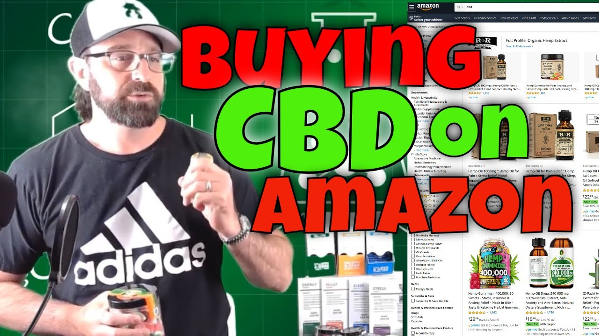 Buy CBD Oil on Amazon?