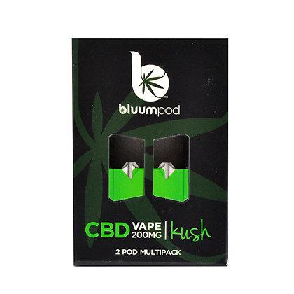 KUSH CBD 200MG (2pk) JUUL Compatable BLUUM