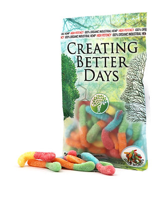 300MG Sour Gummy Worms (20 Pieces)