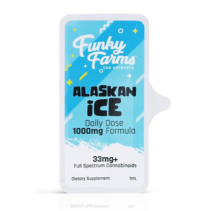 Alaskan Ice Daily Dose MCT Tincture by Funky Farms CBD