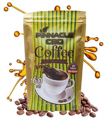 Pinnacle CBD Full Spectrum CBD Ground Coffee