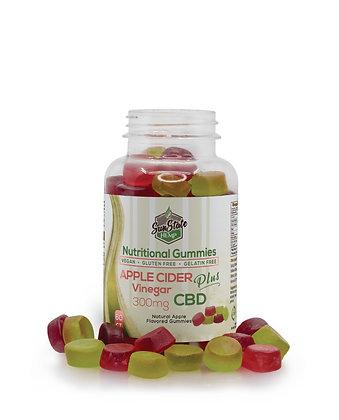 Nutritional Gummy Apple Cider Vinegar - 300mg Sunstate Hemp
