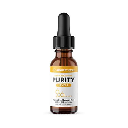 PURRITY - CBD OIL FOR DOGS Level 2 250MG Honest Paws