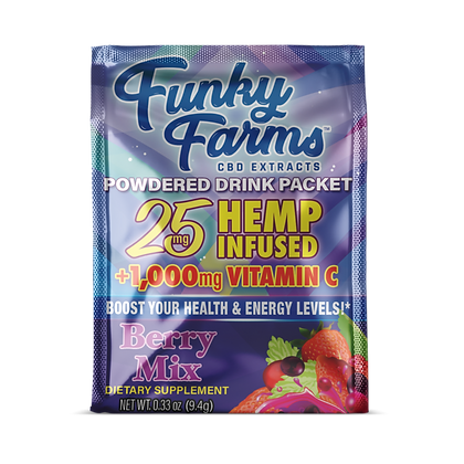 Drink Packet Berry 25mg Funky Farms