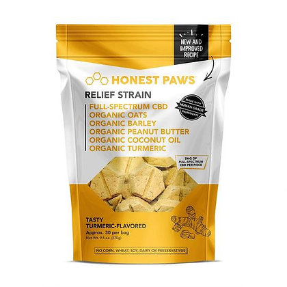 Tasty Turmeric Relief Bites 30 Pack Honest Paws