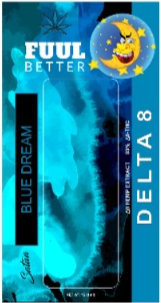 Delta-8 1000MG Blue Dream Disposable (HYBRID) FUUL BETTER