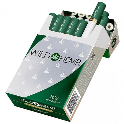 WILD HEMP CBD HEMP-ETTES TOBACCO FREE 1 Pack of 20