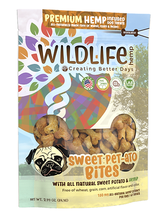 150 MG SWEET PET-ATO TREATS