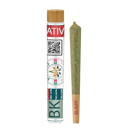 Premium CBD Joints BUBBA KUSH SATIVA