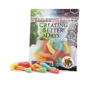 150MG Sour Gummy Worms (10 Pieces)
