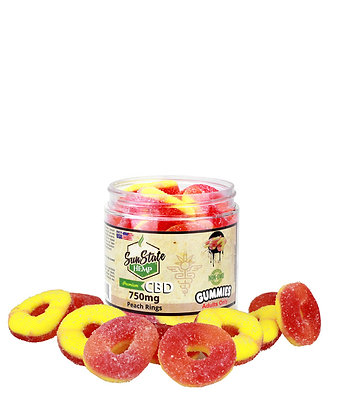 Peach Rings 750mg Sunstate Hemp