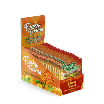 Drink Packet Citrus 25mg - 24pk Funky Farms