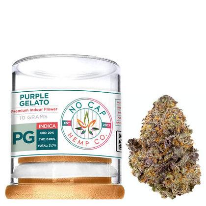 Premium CBD Purple Gelato 10 GRAM FLOWER