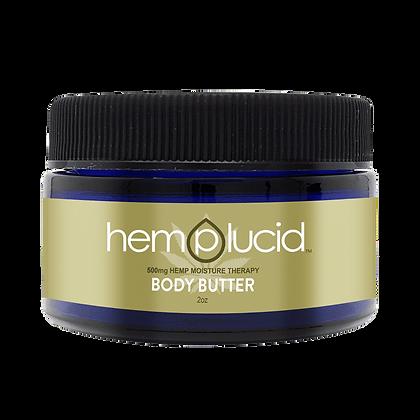 Body Butter CBD Lotion 500MG Hemplucid