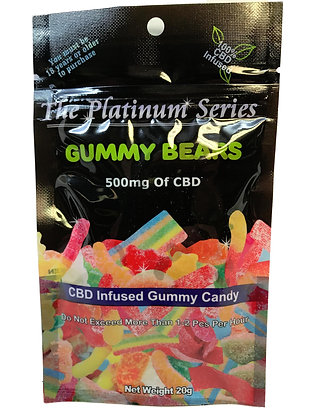 500MG Gummy Bears