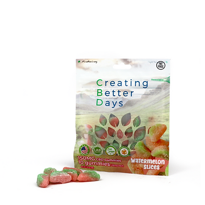 150MG Watermelon Slices (10 Pieces) Creating Better Days