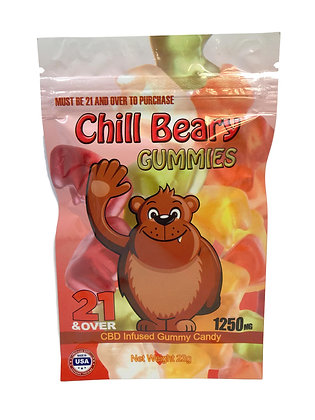 1250MG Gummy Bears