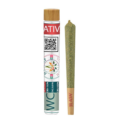 Premium CBD Joints WEDDING CAKE SATIVA