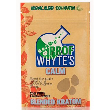 25g Calm Kratom Powder Prof Whytes