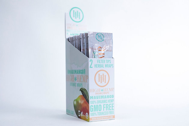 Maui Mango High Hemp Organic Wraps (25 packs)