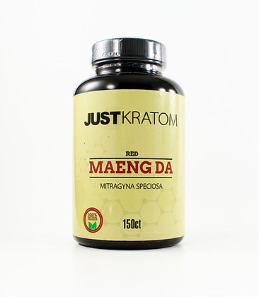 150 Count Red Maeng Da JustKratom
