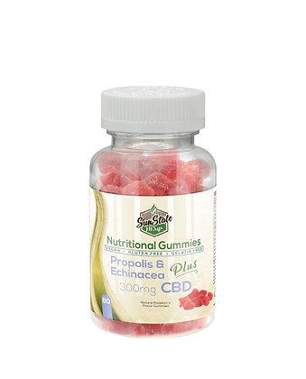 Propolis & Echinacea - 300mg Nutritional Gummy