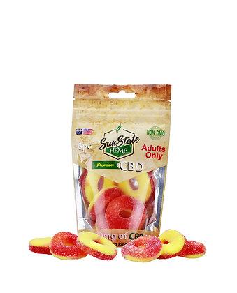 Peach Rings 180mg - 6pc Bag