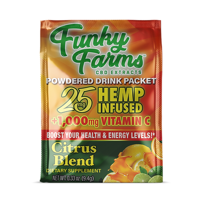Drink Packet Citrus 25mg Funky Farms