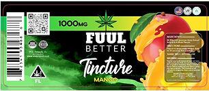 1000MG Mango Delta-8 Oil Tincture FUUL BETTER