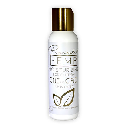 Pinnacle CBD 200mg Body Lotion Unscented