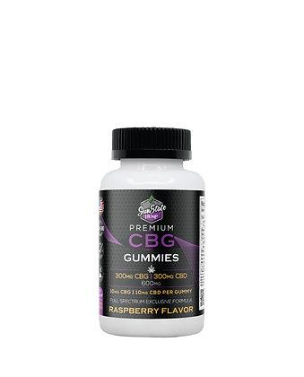CBG/CBD Full Spectrum Gummy Raspberry 30pcs 600mg Sunstate Hermp