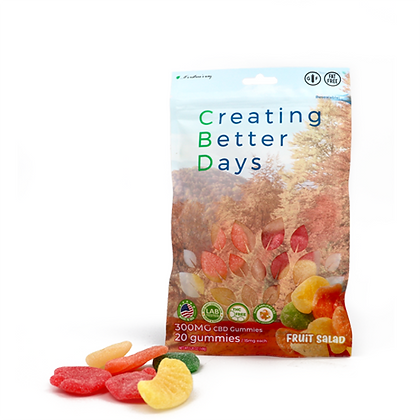 300MG Fruit Salad (20 Pieces) Creating Better Days